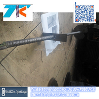 See larger image factory hot dipped galvanized fence post earth ground screw spike pole anchor