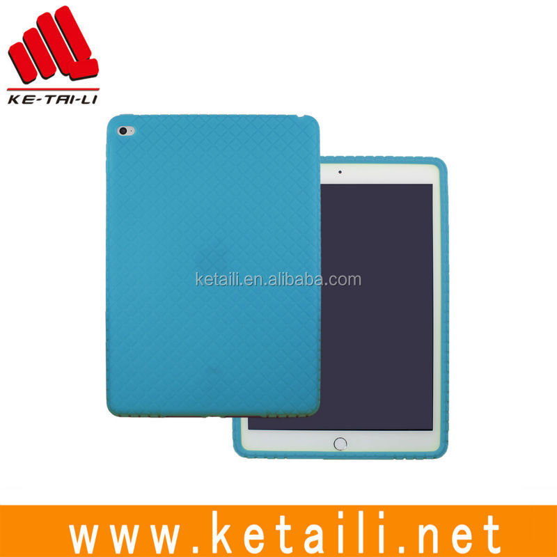 Wholesale price custom design soft protective kids safe silicone rubber tablet case cover for iPad mini Air pro