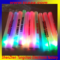 foam led cheer stick foam glow stick
