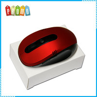 Red Color mini 2.4G Wireless Optical Mouse With Matt Surface