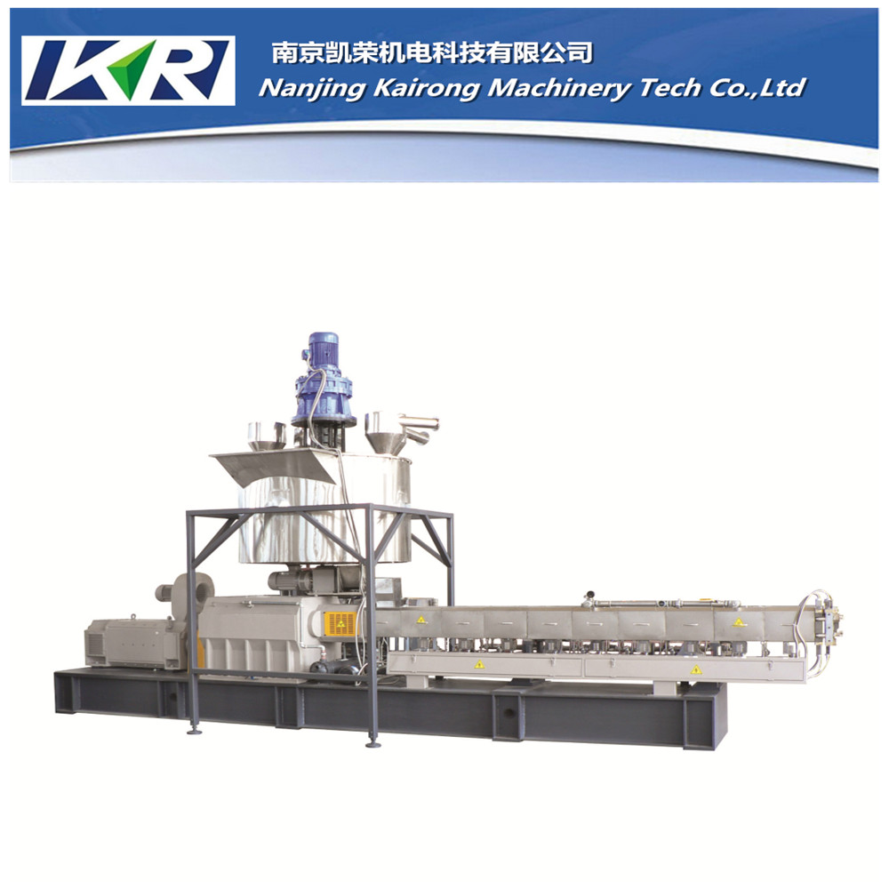 PP/PET/PE waste flakes recycled plastic granulation making machine