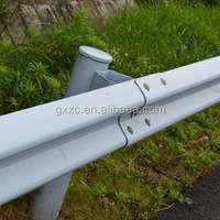 Steel Highway Guardrail Dimensions Made of Q235/Q345