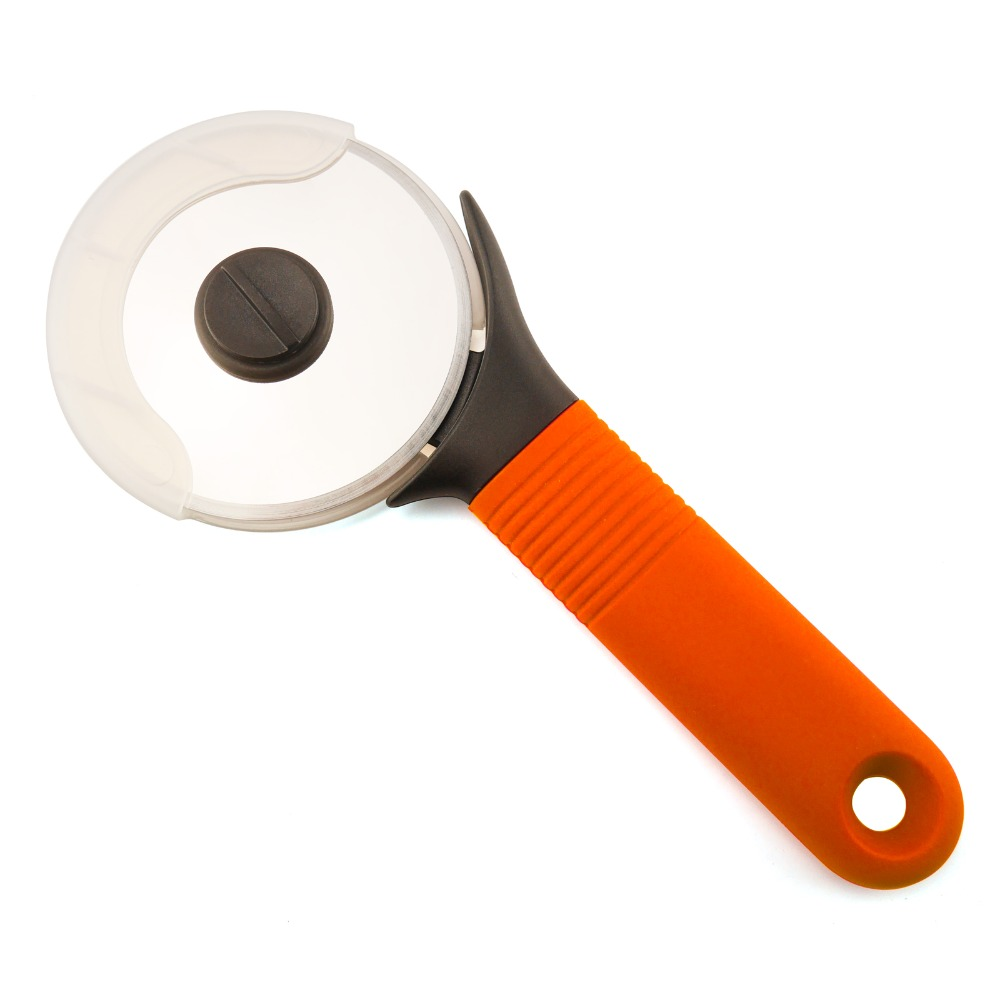 wholesale pizza tools custom pizza wheel cutter stainless steel with private lable