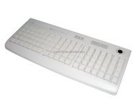 ZQ-KB95 95 keys mechanical switch POS Programmable Keyboard with MSR card reader