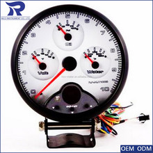 125mm Super Tacho Multi-function 4 in 1 Tachometer with shift light function