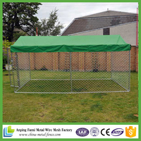 alibaba china selling hot dip galvanized cheap dog cage / dog kennel