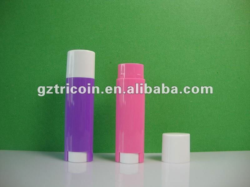 Empty Plastic lip balm case