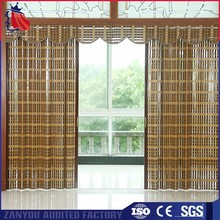 Factory Custom Size 7 Patterns Bamboo Sliding Doors Interior Room Divider