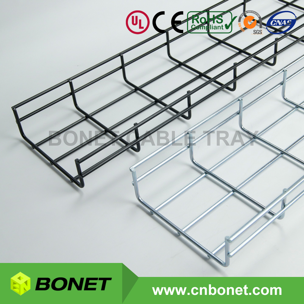 Economical Metal Wire Mesh Cable Tray with Various Surface Finish
