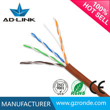 Hot sale color code telecom copper utp cables