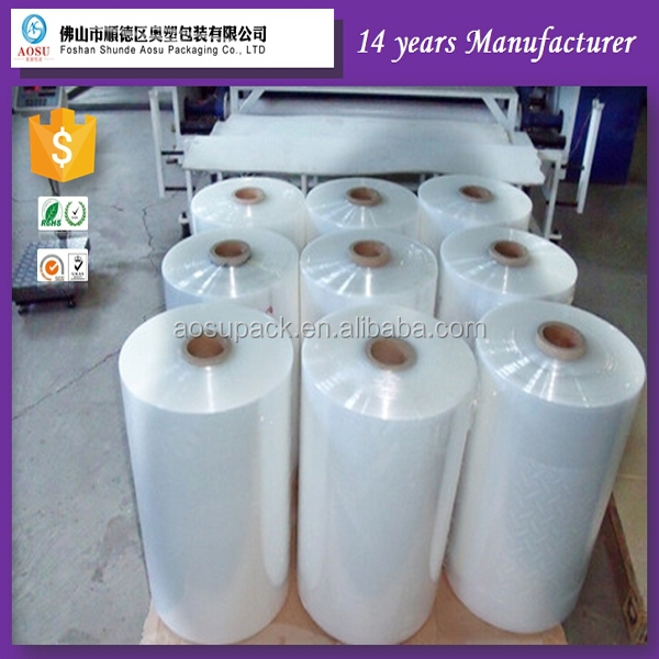 Jiangsu Tube pof plastic wrapping film