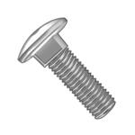 Metric steel round head bolts
