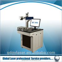cheap handheld fiber laser marking machine 10w on lamp/knife/spoon/phone case