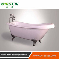 China market wholesale freestanding round bathtub best sales products in alibaba