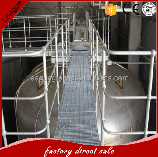 high quality metal railing with ISO approved