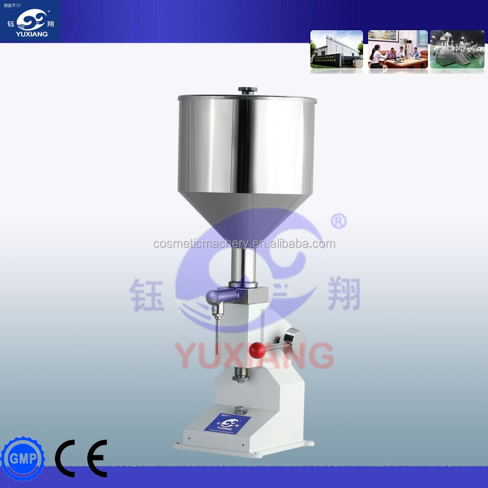 small manufacturing machines manual filling machine for cream