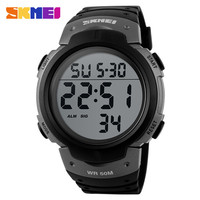 man digital sports watch chrono led watch instructions stainless steel watch relogios masculino 2016