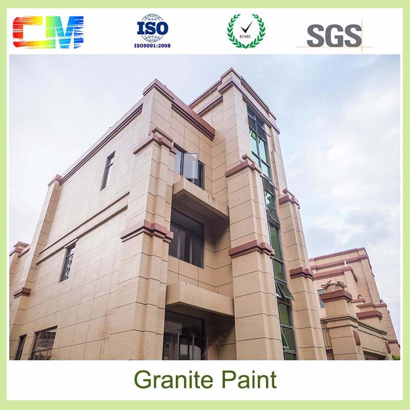 Exterior rough texture paint waterbased liquid spray special effect granite wall stone texture paint