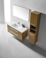 Bathroom vanity makeup sets with melamine board on particleboard/plywood/mdf