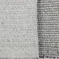 stretch boucle wool knitting fabric for women clothing