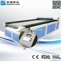 High quality and precision auto-feeding fabric laser cutting machine made in china