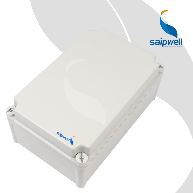 SAIPWELL <strong>J</strong> Socket Box Plastic PC High Strength Industrial Control Enclosure