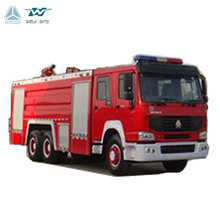 SINOTRUK HOWO brand new 20CBM airport water cannon foam fire fighting truck for sale