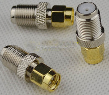 High quality F female to SMA male RF adapter Converter for wifi modem