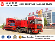 China Shandong YangJia Wind Blade Transportation Special semi trailer (Draw and folding )