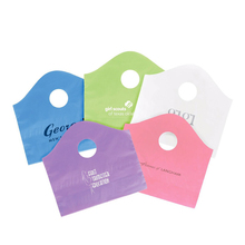 Manufacturer Excellent Quality Wholesale Heavy Duty Biodegradable Ldpe Plastic Carry Bag Design With Punch Hole
