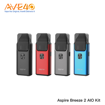 New Products 2018 Aspire Breeze 2.0 Version Aspire Breeze 2 AIO Kit With Wholesale Price