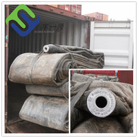rubber airbag for bridge and tunnel construction