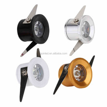 1w 3w mini led downlight with 27mm cutout