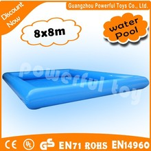 good quality inflatable square swimming pool/inflatable pool table for sale
