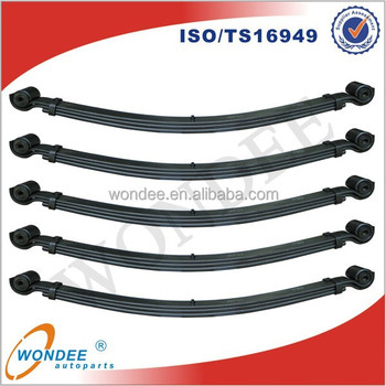 ISF31 Double Eye Pick-up Truck Trailer Rear Leaf Spring