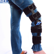 Orthopedic leg turntable adjustable medical knee brace