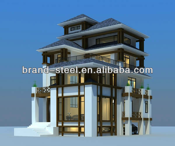 Prefab houses/villa/building with high quality and unique design