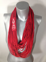 Fashion handmade Winter Cotton Jersey Noodle Infinity scarf wholesale
