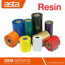 High Quality Barcode Printer Wash Care Resin Thermal Transfer Ribbon Compatible for Zebra