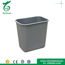 China supplier garbage container indoor waste bins plastic mini trash can 10L