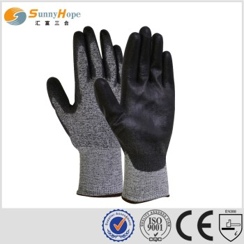 SUNNYHOPE nitrile foam cut resistant gloves working gloves
