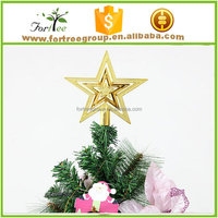 new design hot sale metal christmas tree top star