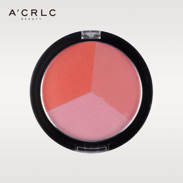 custom cosmetics cheap 3 colors eyeshadow