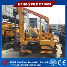 HXR Hydraulic Solar Pile Driver bored piling equipment