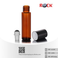 2015 hot sale 10ml amber glass vial