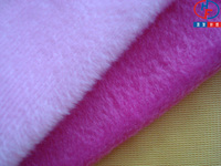 100% Polyester Velboa Fabric JS-Boa for Children Toys or dolls (0.5mm-5mm in pile)