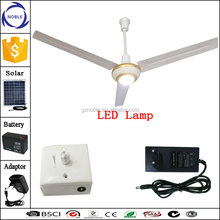 30w dc12v solar ac dc ceiling fan for Southeast Asia and Middle East Market