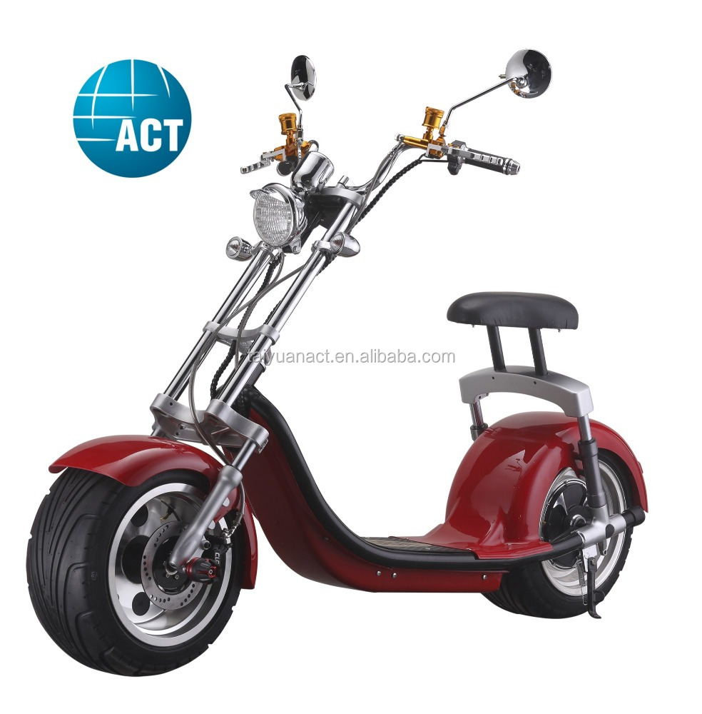 2017 newly fashion popular zappy electric delivery scooter