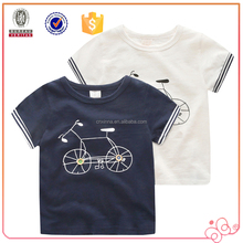 China manufacturer customized fancy boys kid t-shirt
