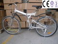26 inch mini 6 speeds CE folding bicycle